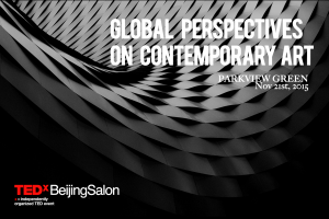 TEDxBeijingSalon_GlobalContemporaryArt_15Nov